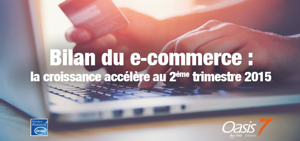 Les ventes sur internet explosent au 2ème trimestre 2015