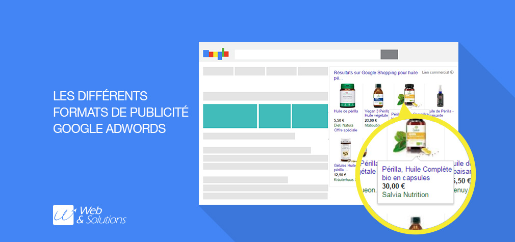 SEA : quels sont les formats de publicité Google AdWords ?