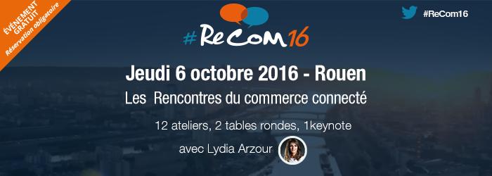 [EVENT] J-7 : Pourquoi choisir la thématique projet, Programme, Lydia Arzour en invité #Recom16