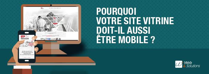 Pourquoi votre site vitrine doit aussi être mobile ?